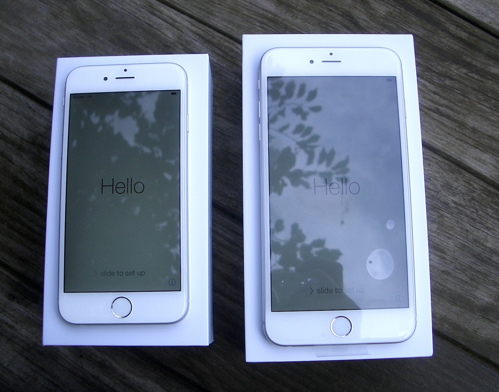 difference iphone 6s et 6 plus