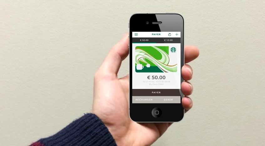 starbucks c 39 est parti pour le paiement par smartphone en france. Black Bedroom Furniture Sets. Home Design Ideas
