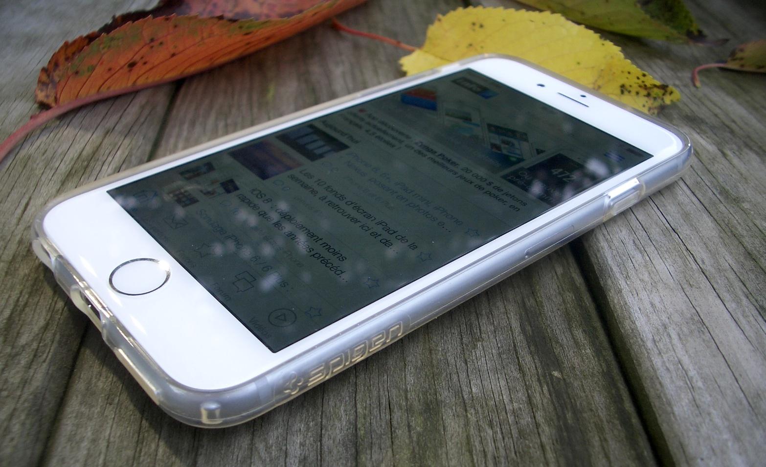 coque anti choc iphone 8 spigen
