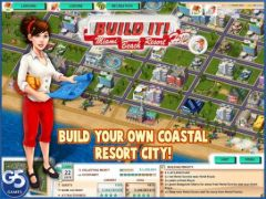 free iPhone app Build It! Miami Beach Resort