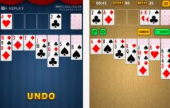 free iPhone app Pocket Solitaire