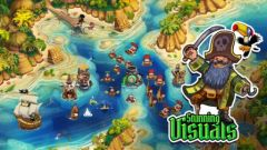 free iPhone app Pirate Legends TD