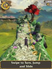 free iPhone app Temple Run: Oz