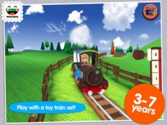 free iPhone app Toca Train
