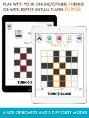 free iPhone app Turnablock