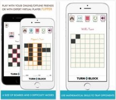 free iPhone app Turnablock