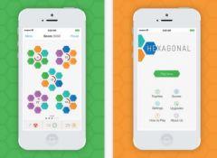 free iPhone app Hexagonal!