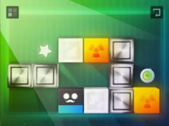 free iPhone app Gravity Blocks X