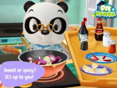 free iPhone app Dr. Panda: Restaurant 2