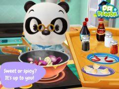 free iPhone app Dr. Panda: Restaurant 2