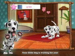 free iPhone app My Dalmatian - the cute puppy dog