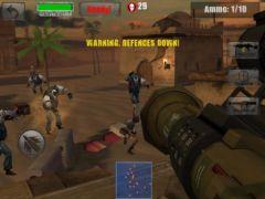 free iPhone app Zombie Jeep Gunner