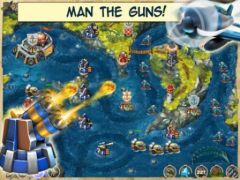 free iPhone app Iron Sea Defender
