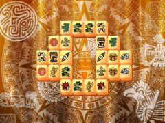 free iPhone app Aztec Mahjong