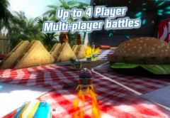 free iPhone app Table Top Racing Premium Edition