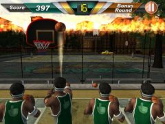 free iPhone app Megatouch Hoop Jones