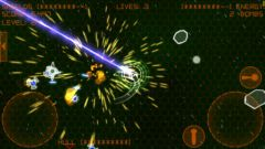 free iPhone app Alien Space Retro