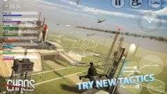 free iPhone app CHAOS Combat Copters HD