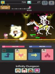free iPhone app Infinity Dungeon!
