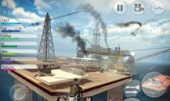 free iPhone app C.H.A.O.S Combat Copters HD