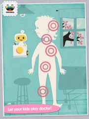 free iPhone app Toca Doctor HD