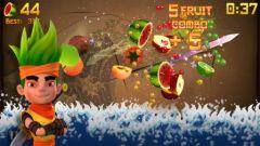 free iPhone app Fruit Ninja
