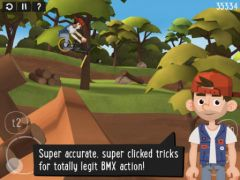 free iPhone app Pumped BMX 2