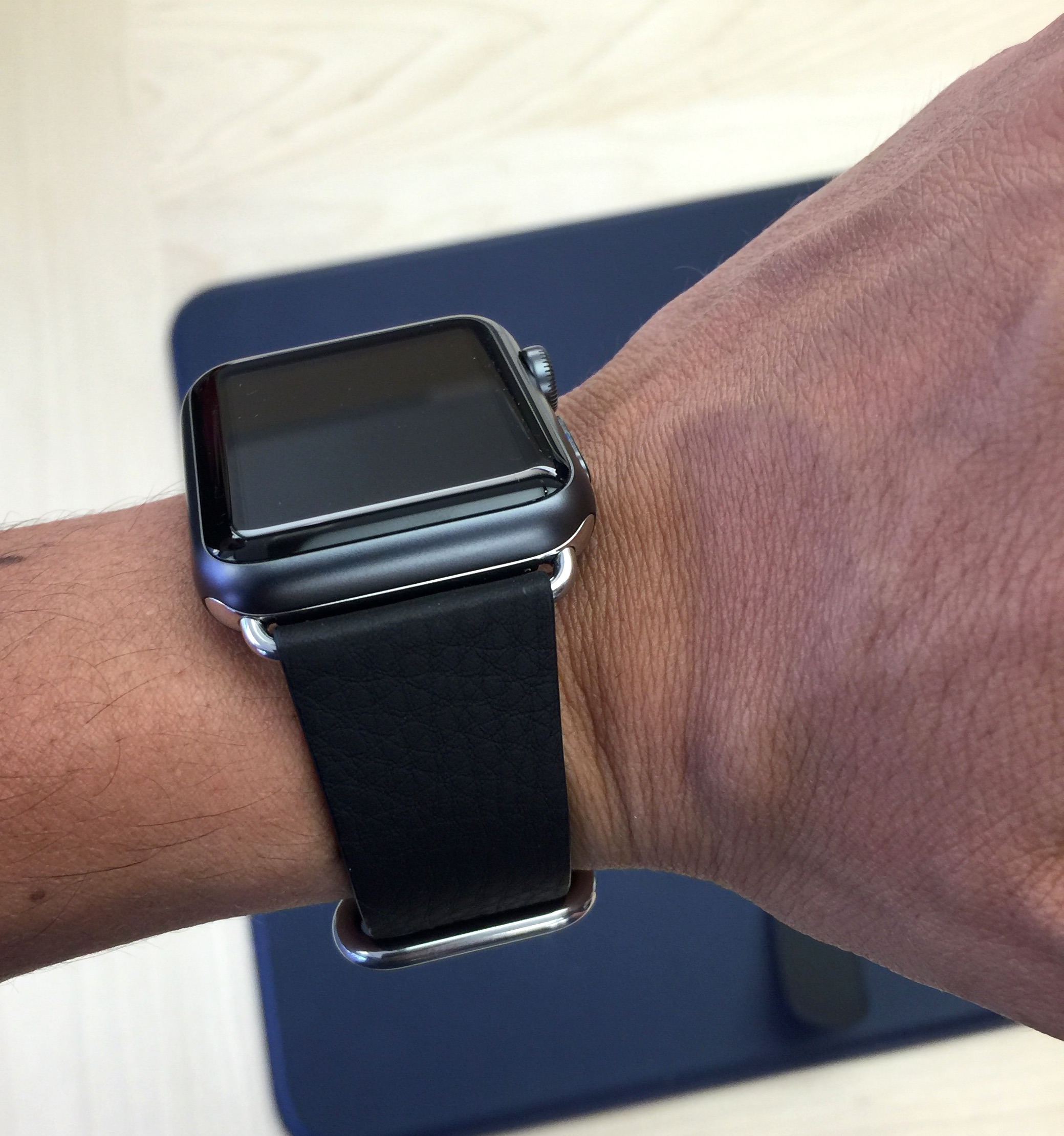 bracelet cuir apple watch. Black Bedroom Furniture Sets. Home Design Ideas