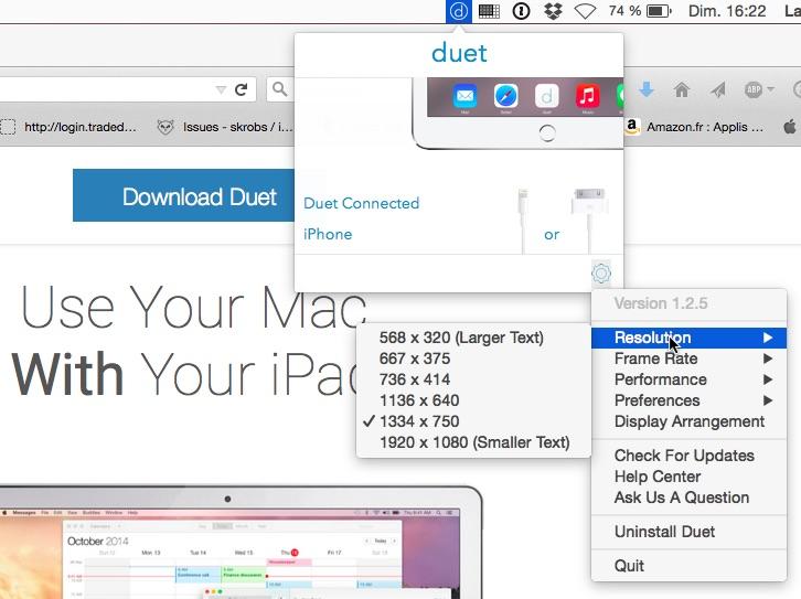 Dossier 17 apps iphone et ipad pour les marier au mac et for Ecran pc mac