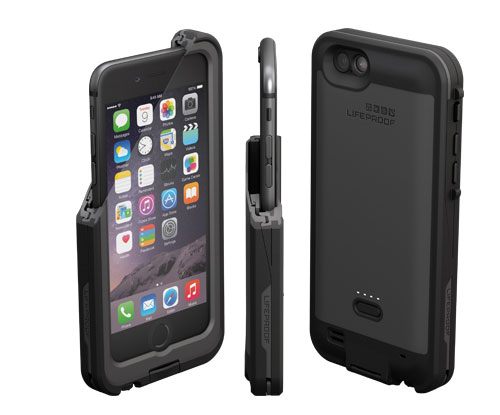 lifeproof lance sa coque tanche avec batterie pour iphone 6 iphone x 8 ipad et apple watch. Black Bedroom Furniture Sets. Home Design Ideas