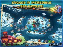 free iPhone app Fort Defenders 7 seas HD