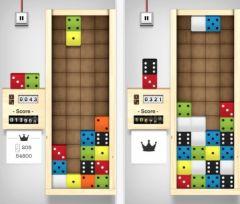 free iPhone app Domino Drop