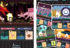 free iPhone app Infinity Dungeon Evolution