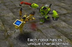 free iPhone app Robot Battle