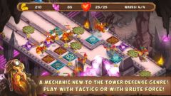 free iPhone app Gnumz: Masters of Defense HD TD
