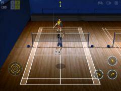 free iPhone app Super Badminton 2010 HD