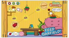 free iPhone app Nourrissez Garfield