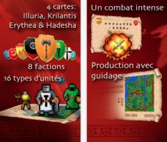 free iPhone app Warlords Classic