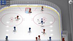 free iPhone app Stickman Ice Hockey