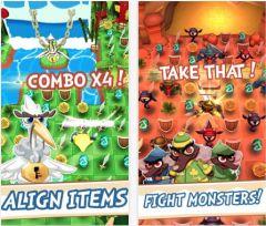 free iPhone app Chouchou Puzzle Adventure