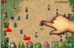 free iPhone app Angry Zombies 2 HD
