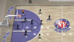 free iPhone app Stickman Basketball