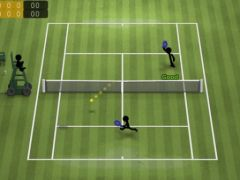 free iPhone app Stickman Tennis