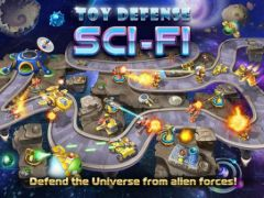 free iPhone app Toy Defense 4