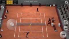 free iPhone app Stickman Tennis
