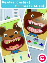 free iPhone app Tiny Dentist