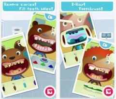 free iPhone app Tiny Dentist