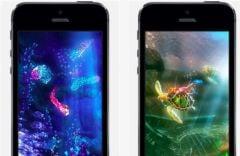 free iPhone app Aquamarine HD