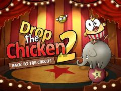 free iPhone app Drop The Chicken 2