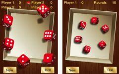 free iPhone app Farkle Dice Game